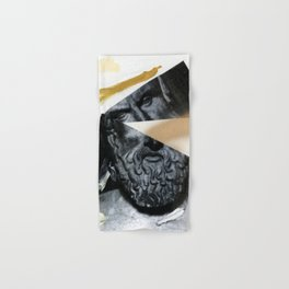 Untitled (Painted Composition 12) Hand & Bath Towel