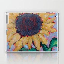 Blue Sunflower Laptop & iPad Skin