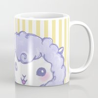 alpaca Mugs featuring Alpaca by Nurt