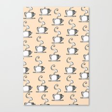 Cups Of Coffee Canvas Print