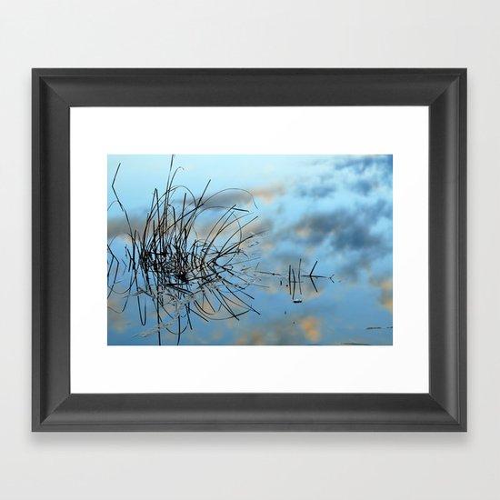 graphics in nature Framed Art Print