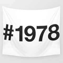 1978 Wall Tapestry