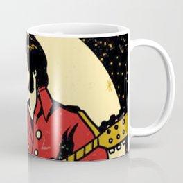 Elvis -Retro Las Vegas Poster Coffee Mug