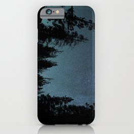 Stars and Trees iPhone Case