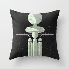 Tales of Pirx the Pilot Throw Pillow
