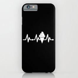 Heartbeat Ice Cream iPhone Case