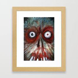the fear Framed Art Print