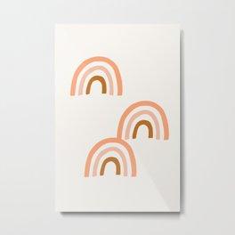 Amazing Rainbows Metal Print