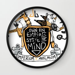 Imperial Mindset Wall Clock