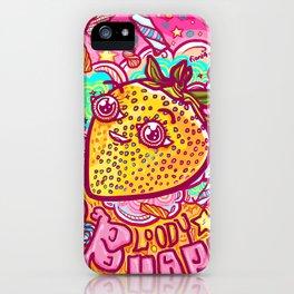 Happy Strawbie iPhone Case