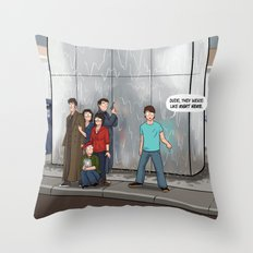 That Handy-Dandy Perception Filter Throw Pillow