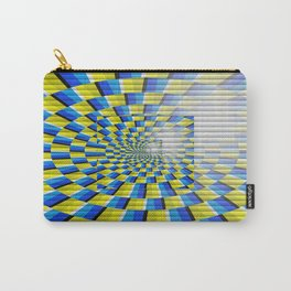 Radial Structure by Anya Campbell Carry-All Pouch