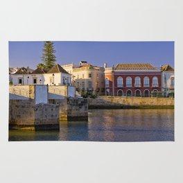 Tavira old town panoramic Rug
