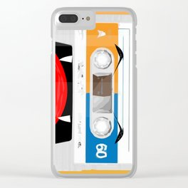 The cassette tape Vampire Clear iPhone Case