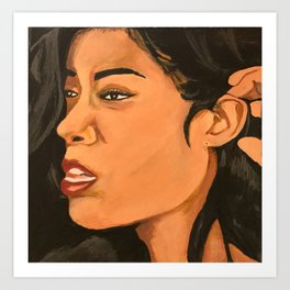 Mila J Music Block Art Print