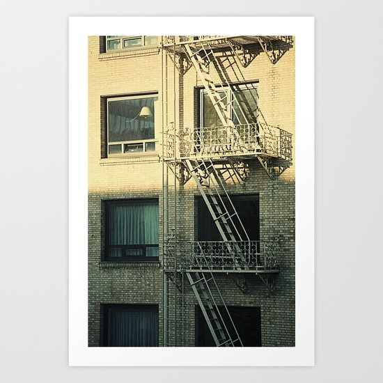 Apartment  Art Print