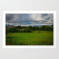 farm Art Prints featuring Farm by Ashley Hirst Photography