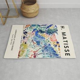 Henri Matisse - La Japonaise Woman beside Water - Exhibition Poster - Art Prints Rug