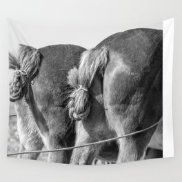 Working Asses Wall Tapestry