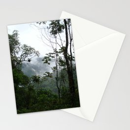 Foggy brazilian forest Stationery Cards