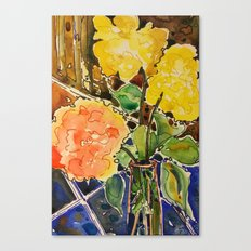 last rose of summer Canvas Print