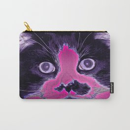 Colored Kitty Carry-All Pouch