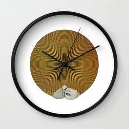 E Lips Wall Clock