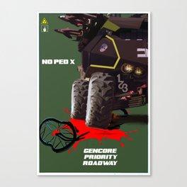 Sporto Propaganda II Canvas Print