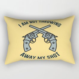 My Shot Rectangular Pillow