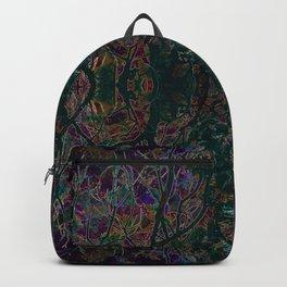 Emerald tree geometry VIII Backpack