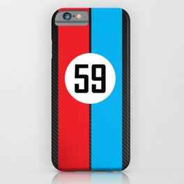 Brumos Racing Carbon Fibre design iPhone Case