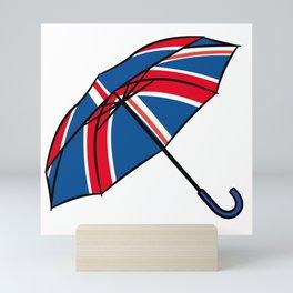British Umbrella Mini Art Print