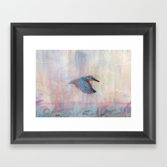 Terror From Above Framed Art Print