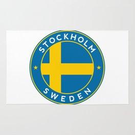 Sweden, Stockholm, circle Rug
