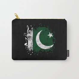 Pakistan Music Flag Carry-All Pouch