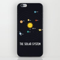solar system iPhone & iPod Skins featuring Solar System by Sara Showalter
