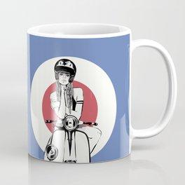 Vespa Girl - Serie: My girls   Coffee Mug