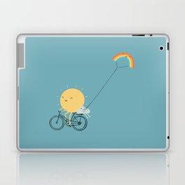 Rainbow Kite Laptop & iPad Skin