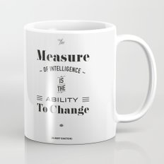 Einstein Quote, words of wisdom Mug