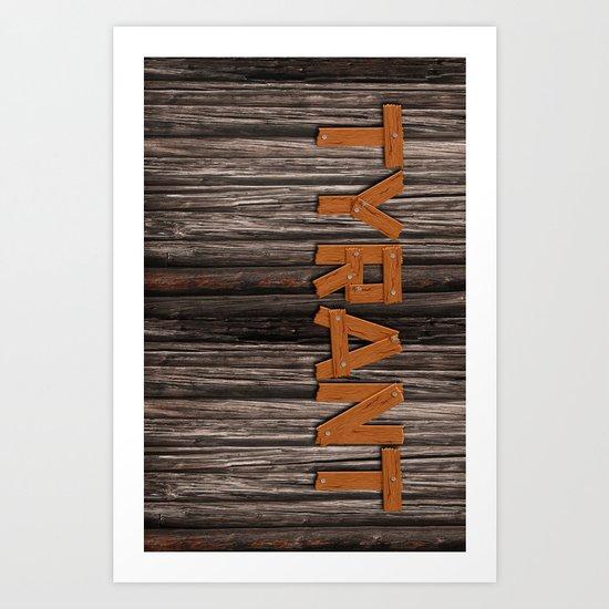 "TYRANT ""Barn"" Art Print"