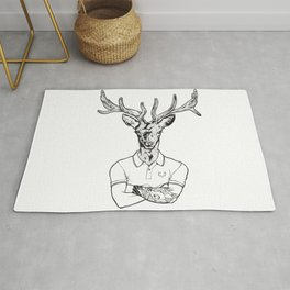 bambi's a grown up now  Black Rug