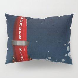 Thunderbird 3 Rocket Launch Pillow Sham