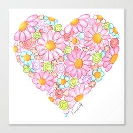 Innocent Heart Canvas Print