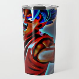 SSJG Goku Travel Mug