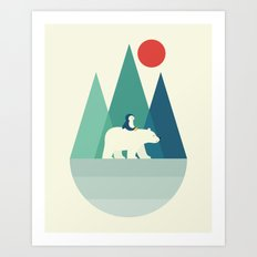 Bear You Art Print