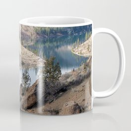 Rocks at Lake Billy Chinook Coffee Mug
