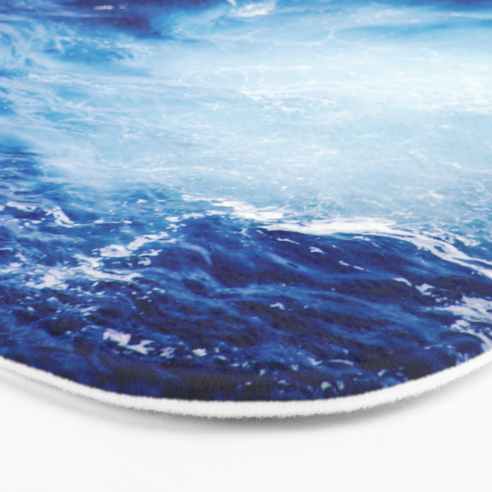 Ocean #blue Bath Mat