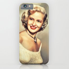 Marilyn Maxwell, Vintage Actress iPhone Case