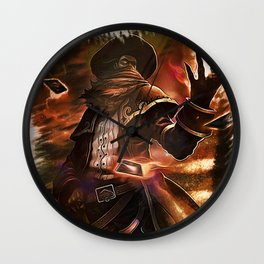 League of Legends HIGH NOON TWISTED FATE Wall Clock
