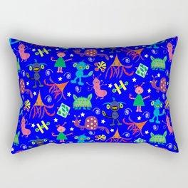 Liam's Monsters Rectangular Pillow